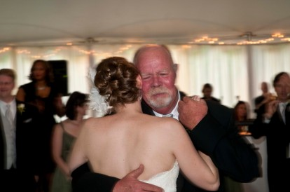 Becky dancing with Mr. Paul