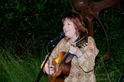 Karen Armstrong sang and played