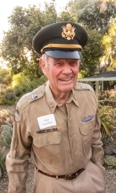 Dick Ingram in his genuine Army uniform