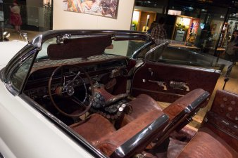 This is a 1960 Pontiac Bonneville Nudie did up for Jerry West.