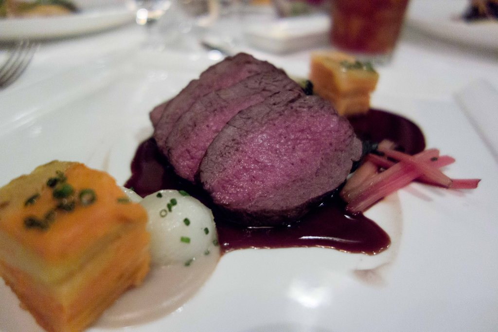 Roasted Saddle of Venison