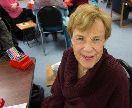 Fan club president Barbara Hanson