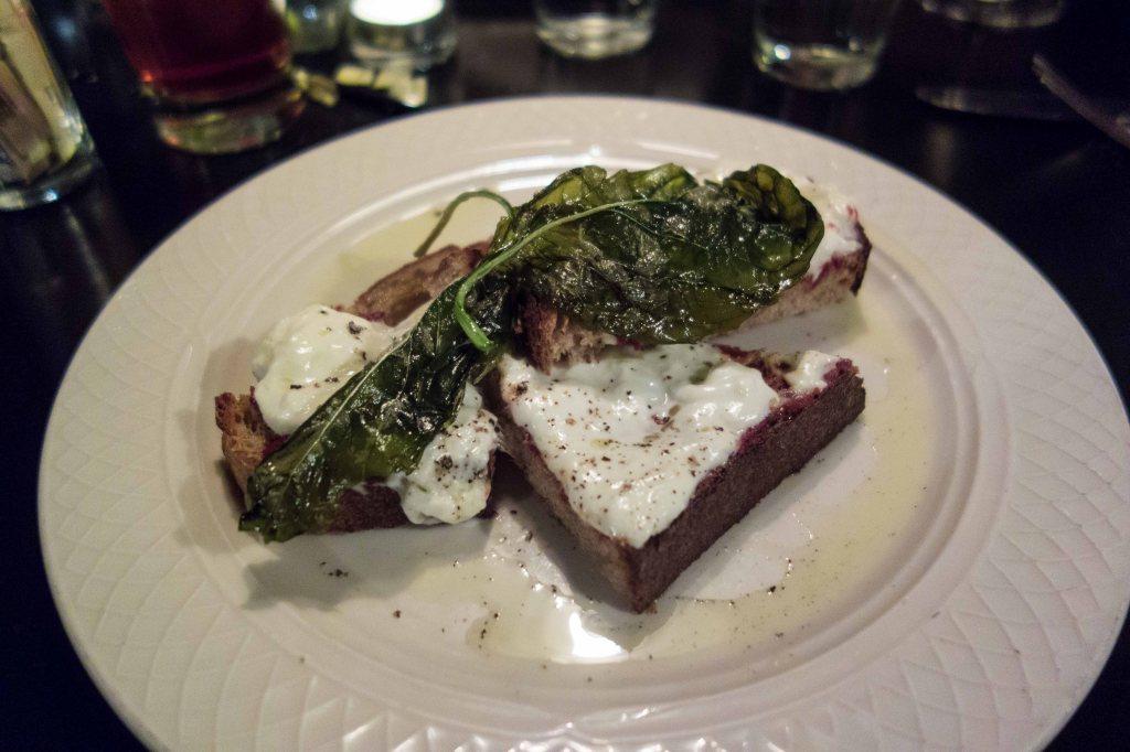 Burrata Crostini