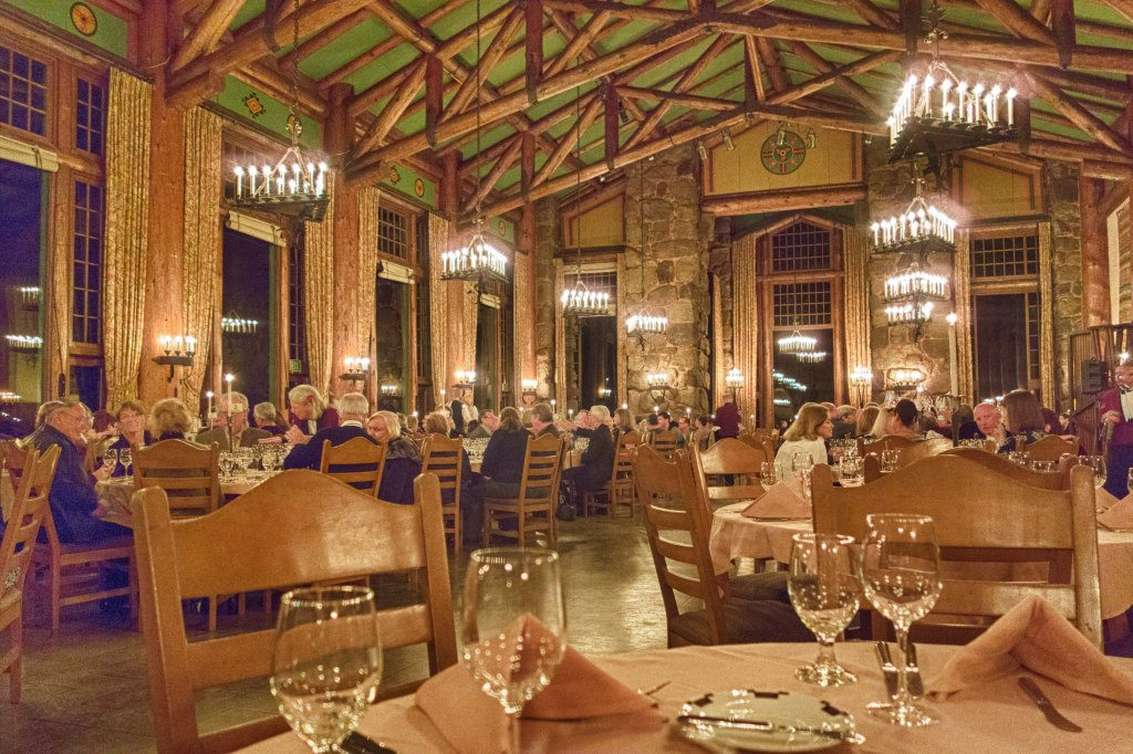 Gala dinner in the grand hall