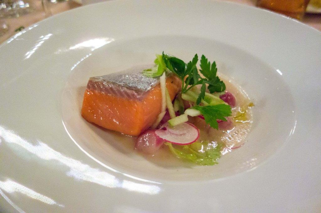 Extraordiarily rare salmon.
