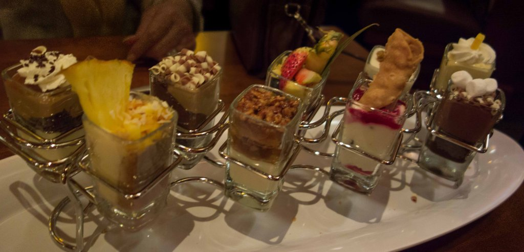 The dessert tray, downsized.
