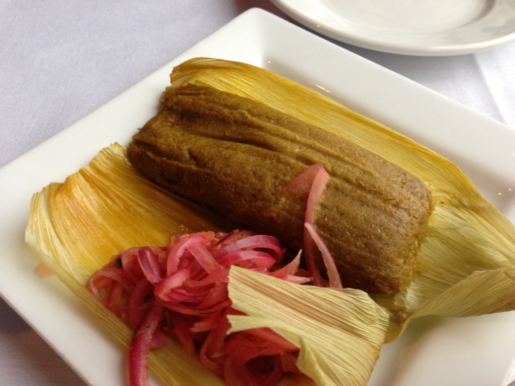 One of the great tamales in existence