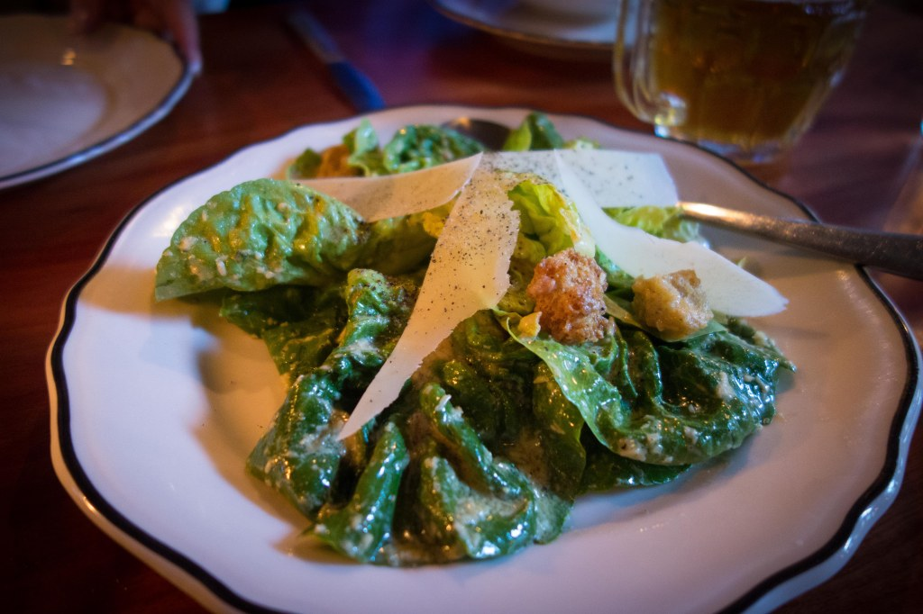 Little Gem caesar salad