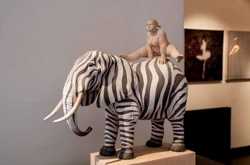 Sculpture by Mathias Verginer