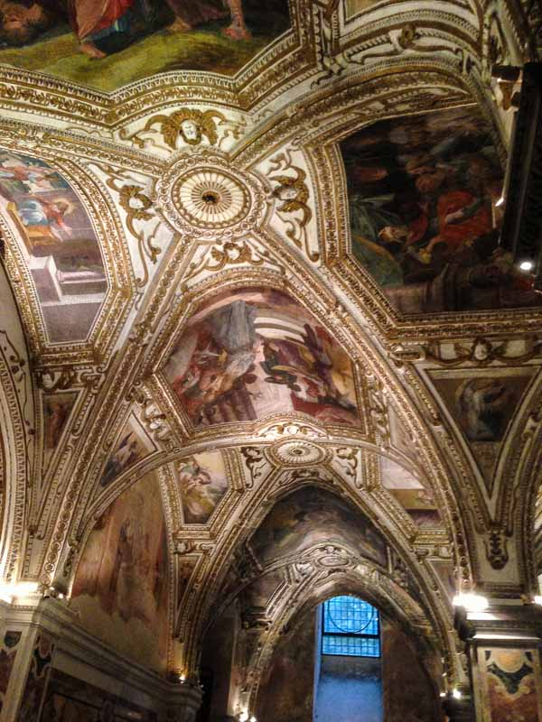 Ceiling in the Crypt of Saint Andrew