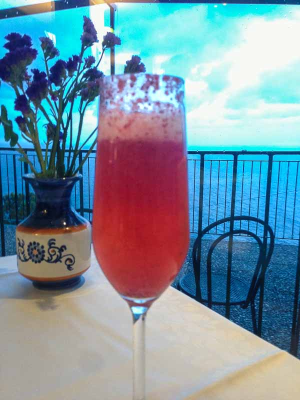 The strawberry version of a Bellini