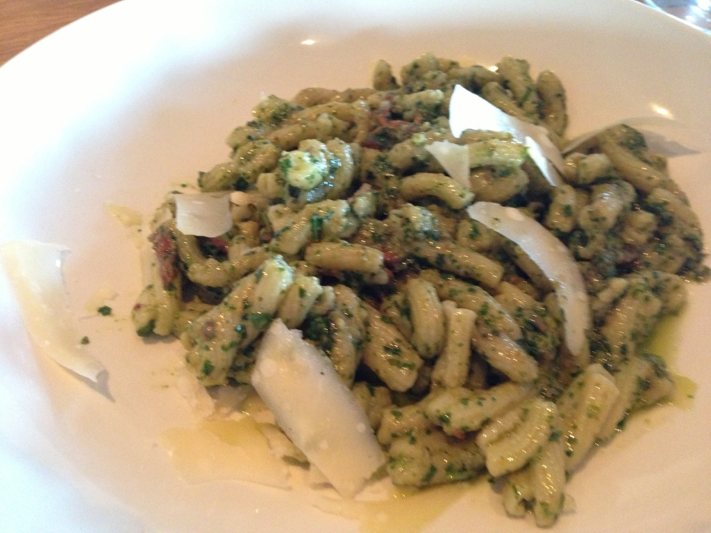 Trofie with pesto