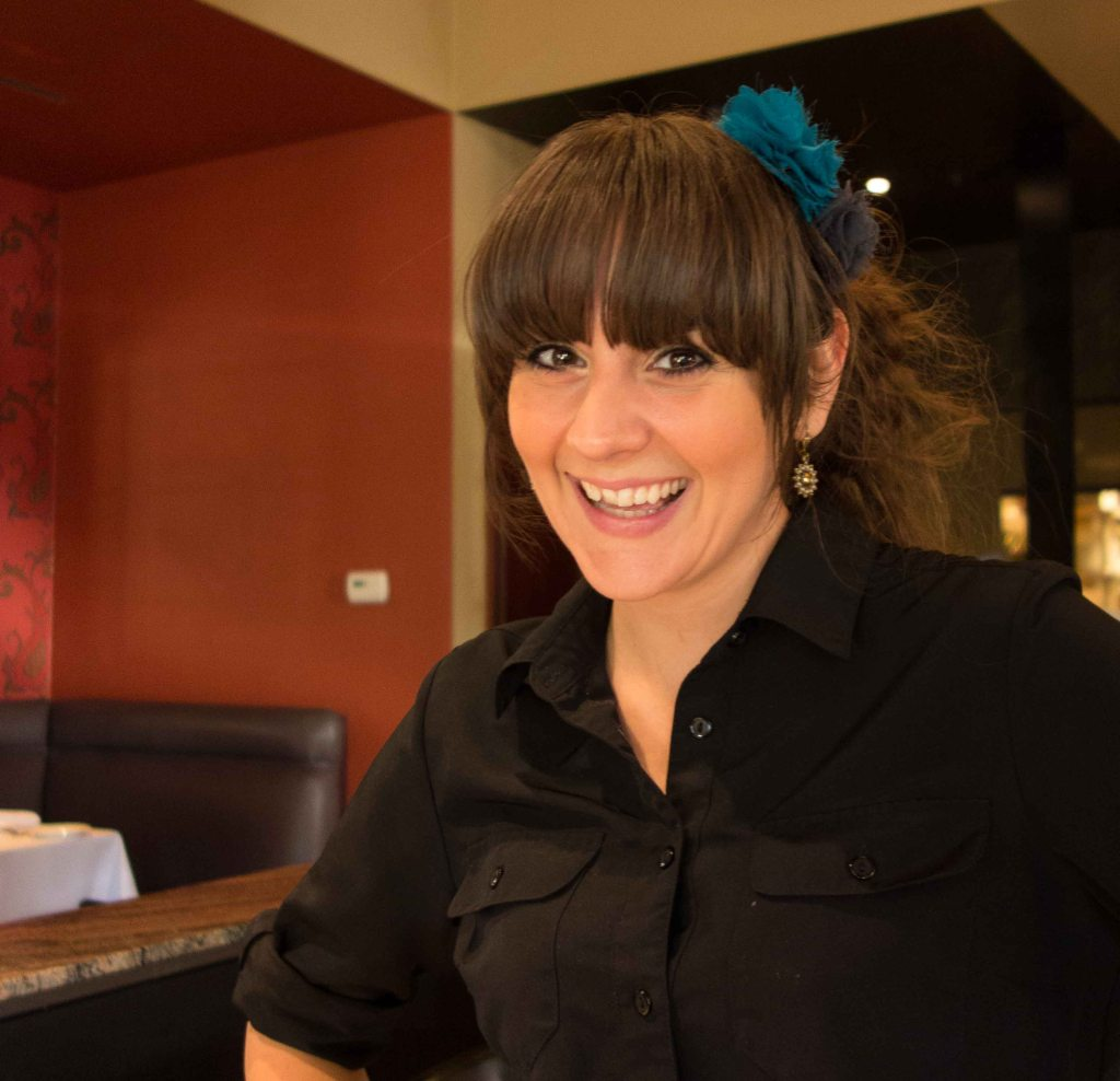 Maria, a very good waitress who need to learn more about Linda Ronstadt