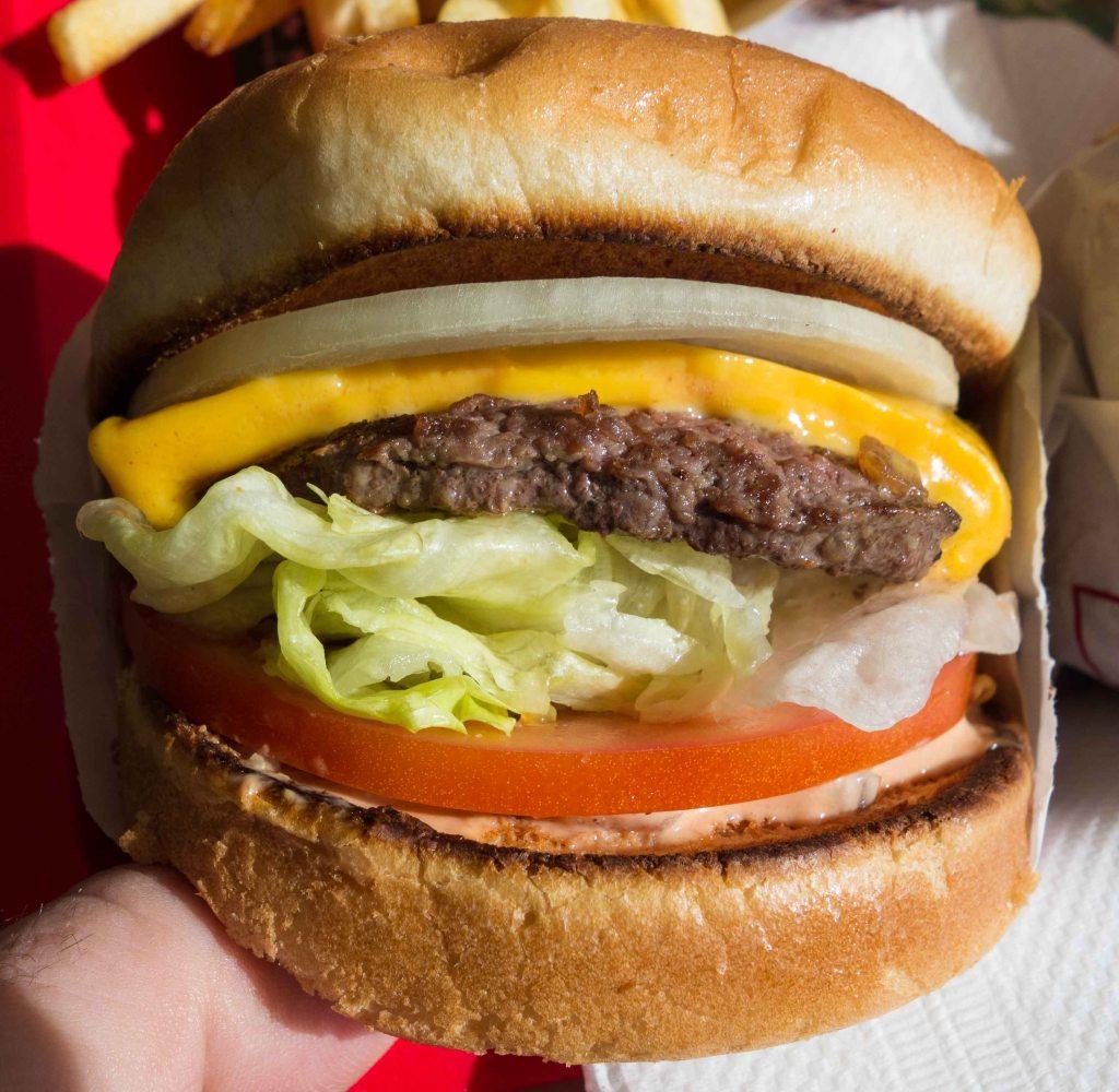 A very decent burger.