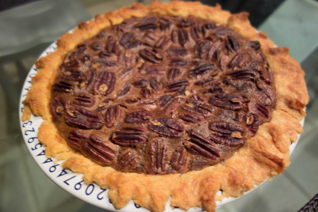 The perfect pecan pie