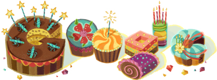 The Google doodle I saw today