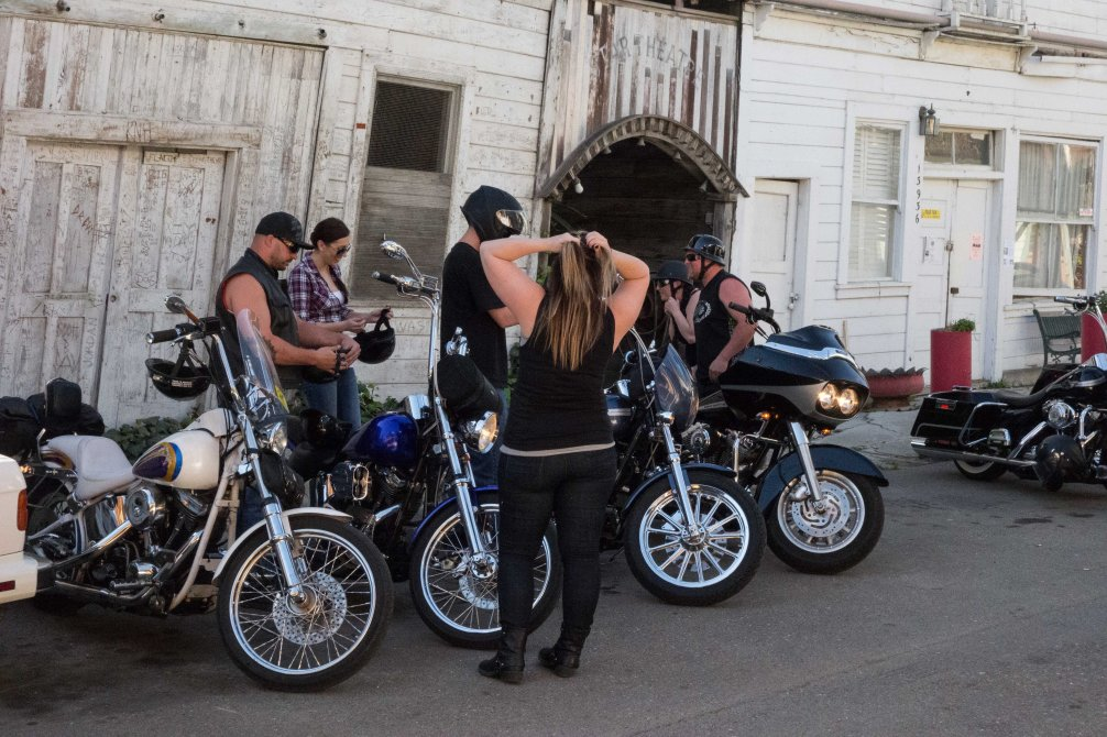 As the motorcycle gang becomes more like the Kiwanis.