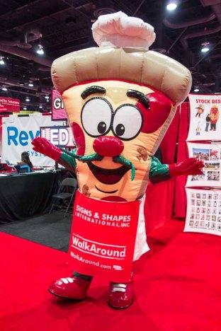 A different pizza slice costume