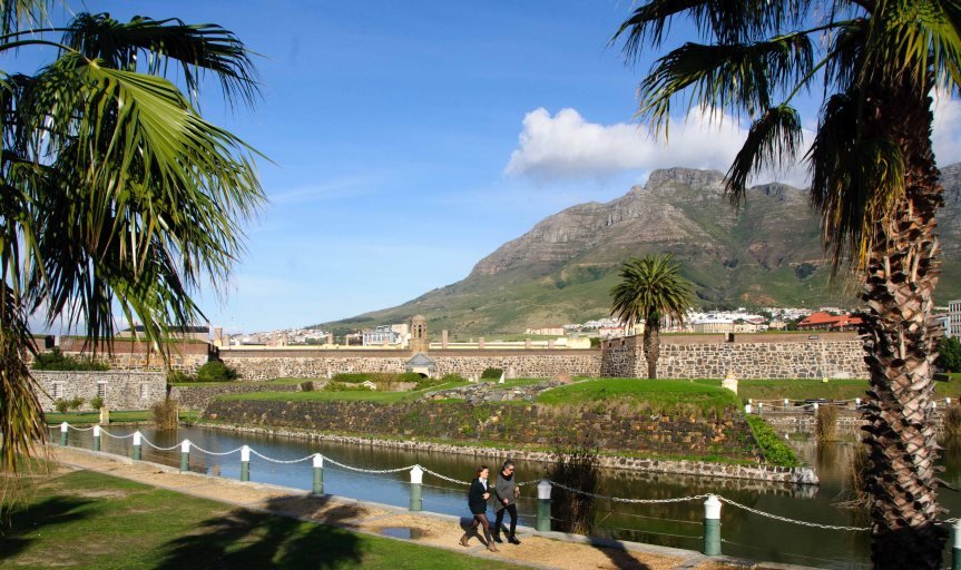 The original castle of Cape Town, from the 1600's