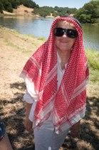 Jeanne Ryan as a chic sheik