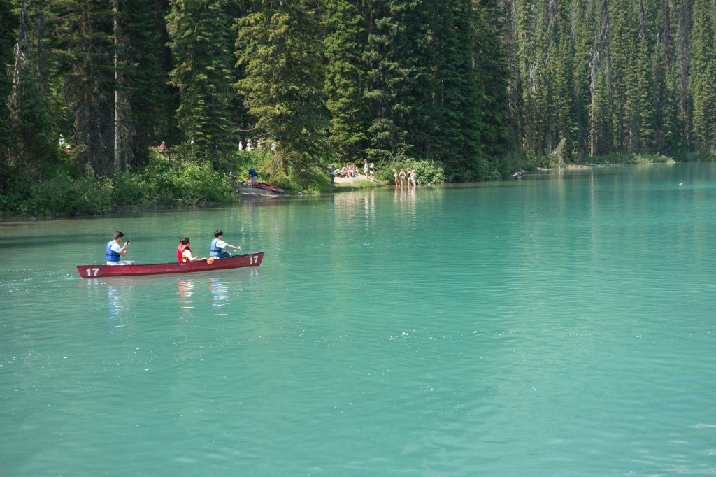 You don't have to know what you're doing to rent a canoe.