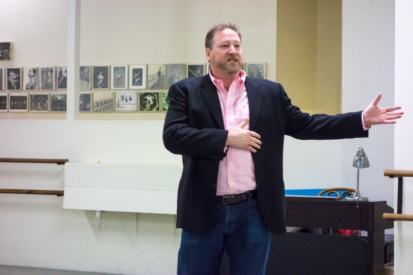 Charles Anderson, Artistic Director of the company