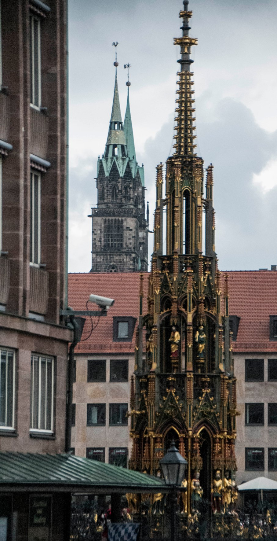Two towers of Nuremberg