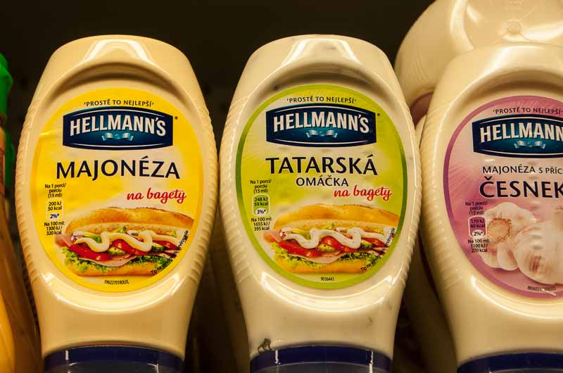 Hellmann's/Best Foods is everywhere.