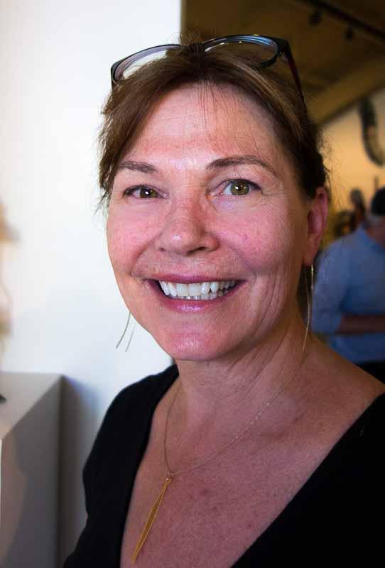 Jane Burton, artist and friend.