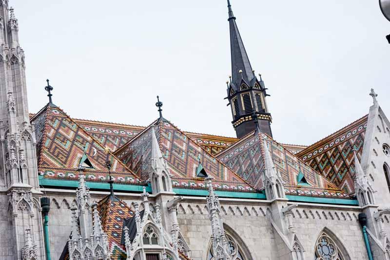 Fascinating roof tile design