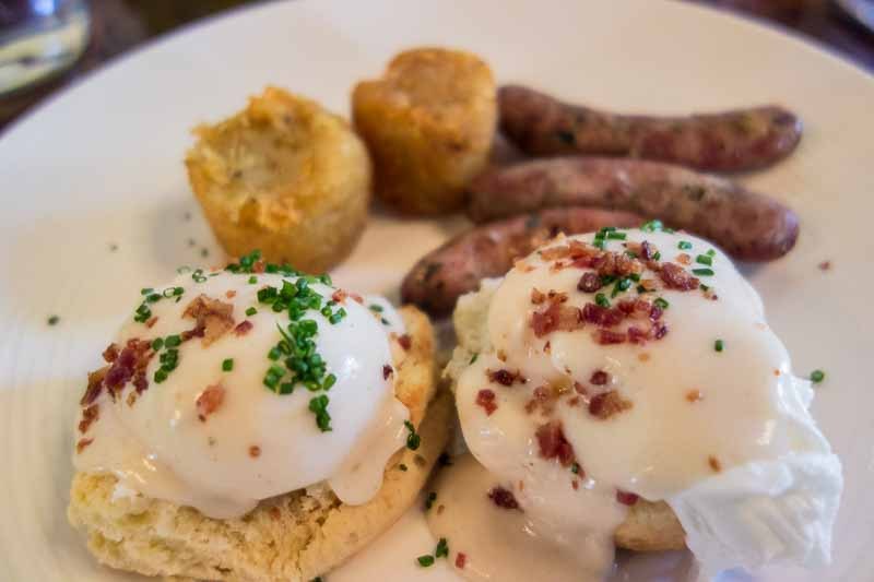 Biscuits and gravy, so they think.