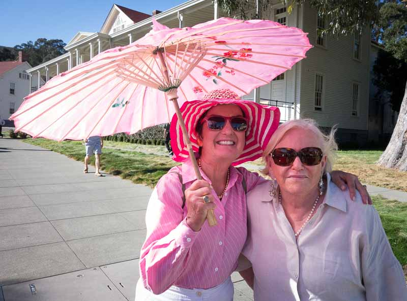 The parasol will never go out of style.