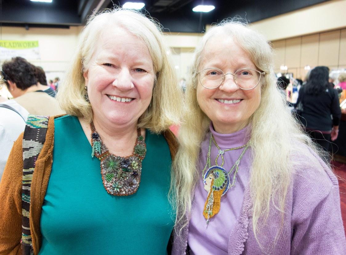 Kathy and  Nina