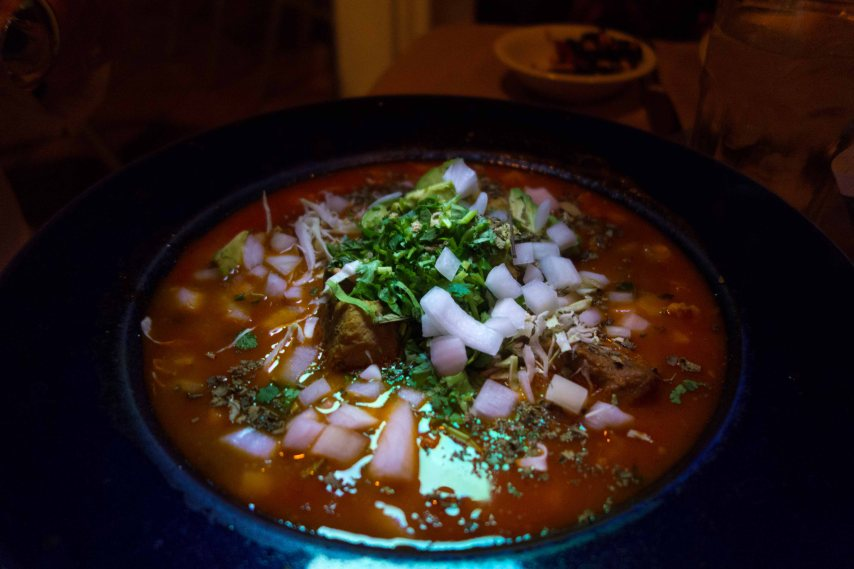 Pozole, the pride of Montecito