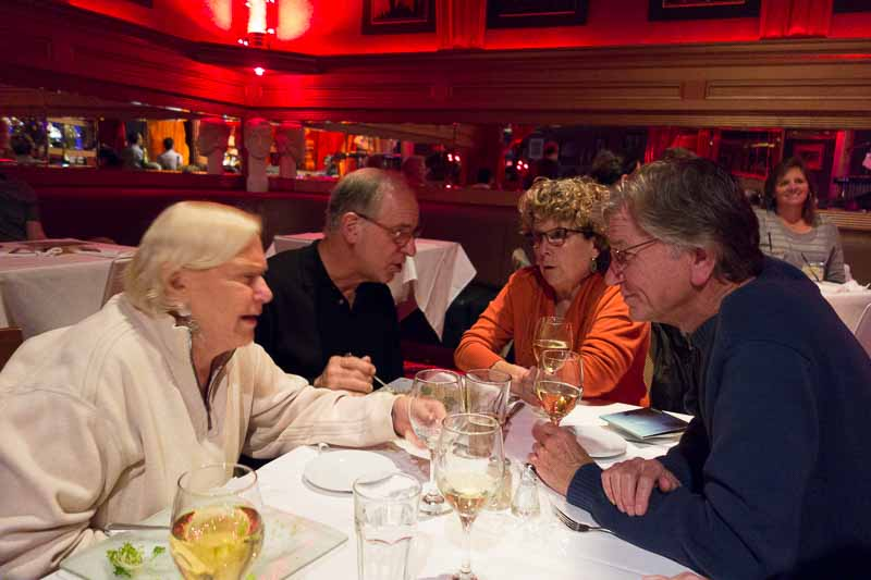 Gail, with Joe, Mary and Ted