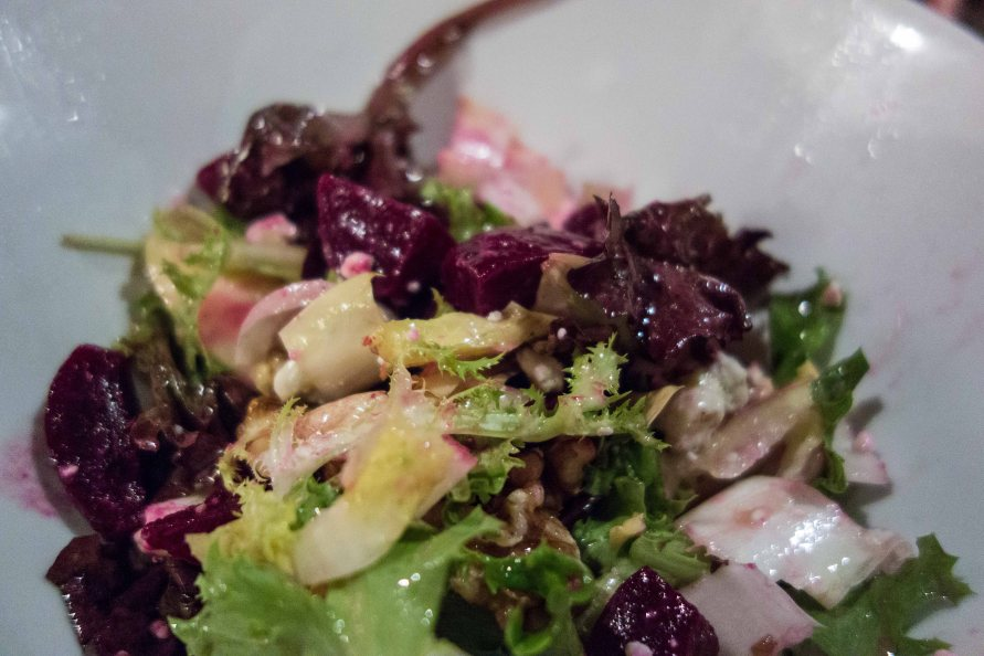 A very attractive salad, if you like beets