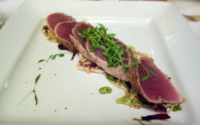 Seared tuna the way it was meant to be.