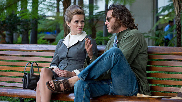 Joaquin Phoenix and Reese Witherspoon in Inherent Vice.