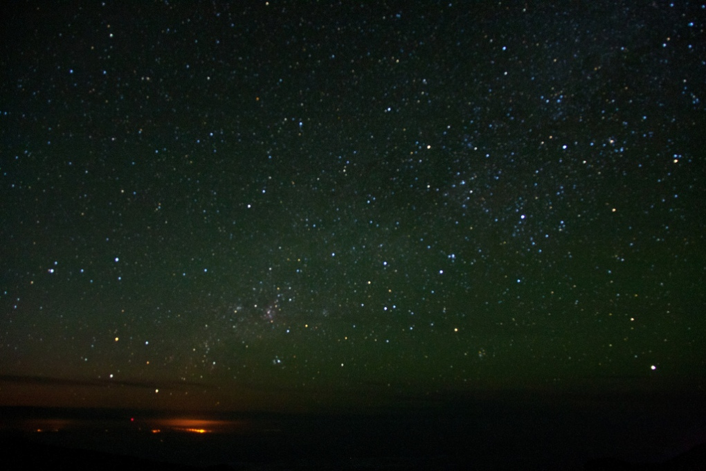 A beautiful photo of the sky over Maui.  I wish I had taken it, but I swiped it from Daniela A Nievergelt.