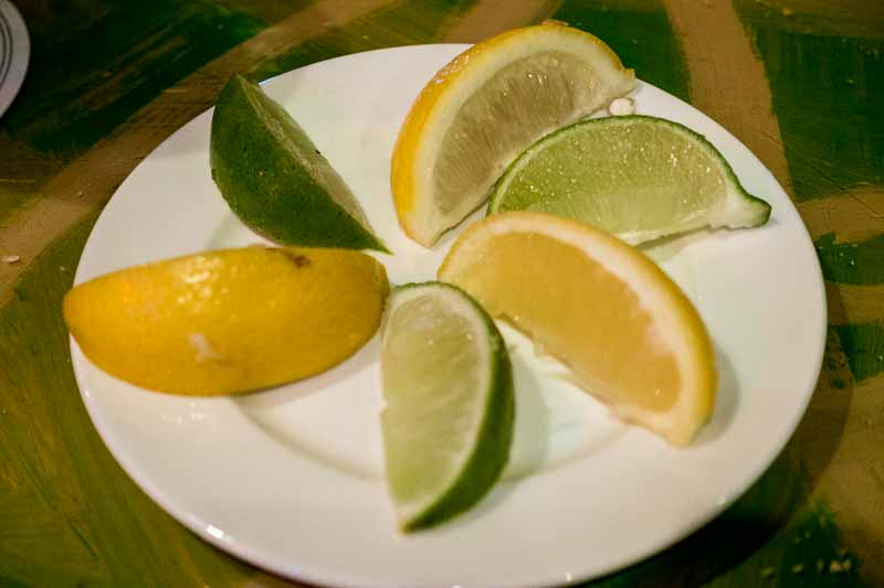 I asked for lime, Sally wanted lemon.  Somebody took the time to do it right.
