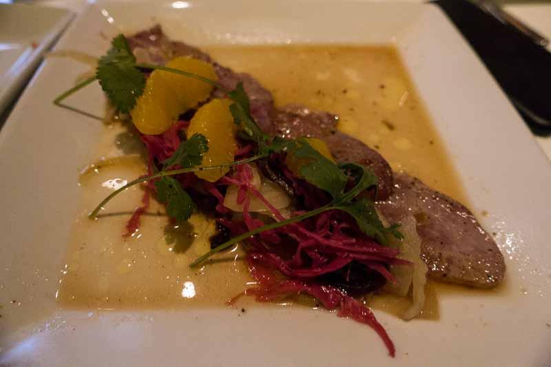 Yellowfin Tuna escabeche