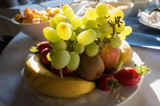 Plenty of fresh fruit