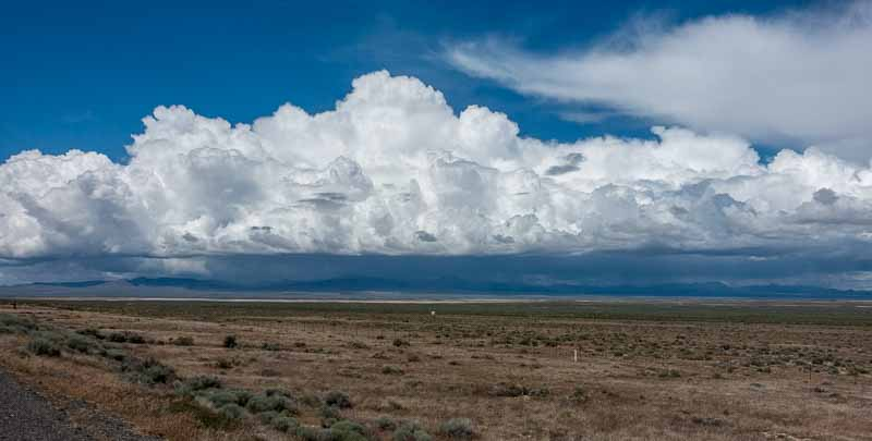 Clouds this great don't happen often, especially on the high desert