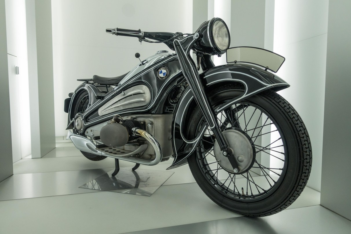 The forerunner of the modern motorcycle