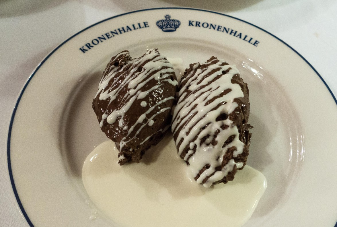 Dessert fit for royals.