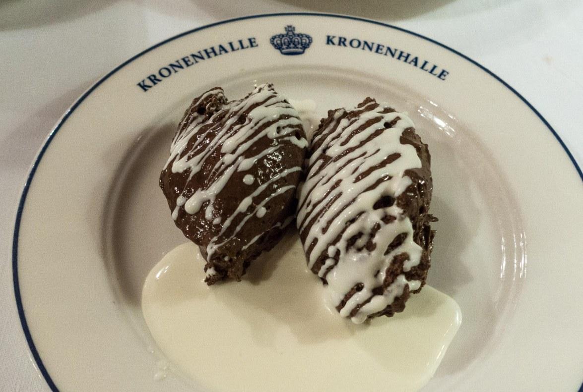 Dessert fit for royals.