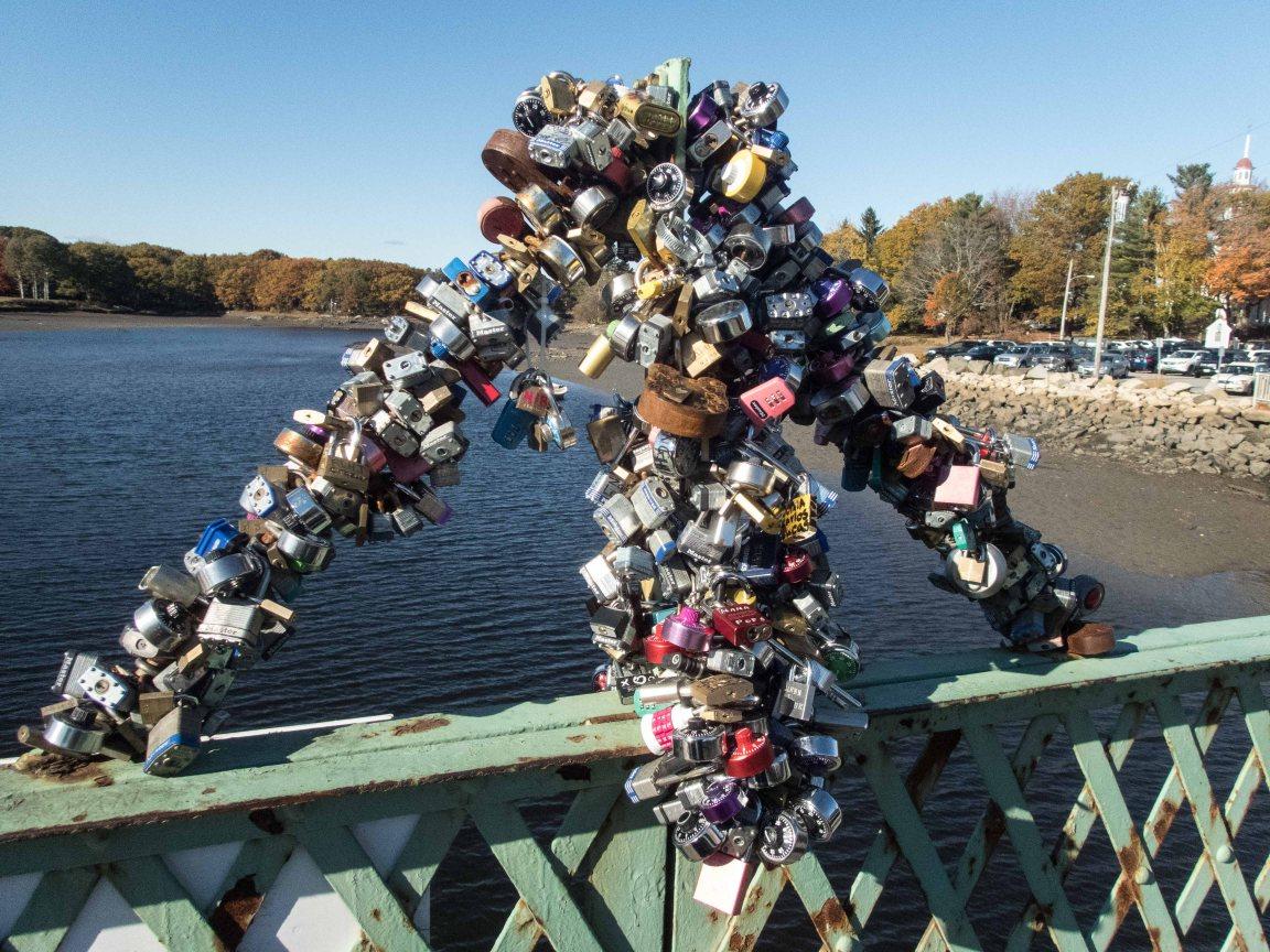 Love locks galore