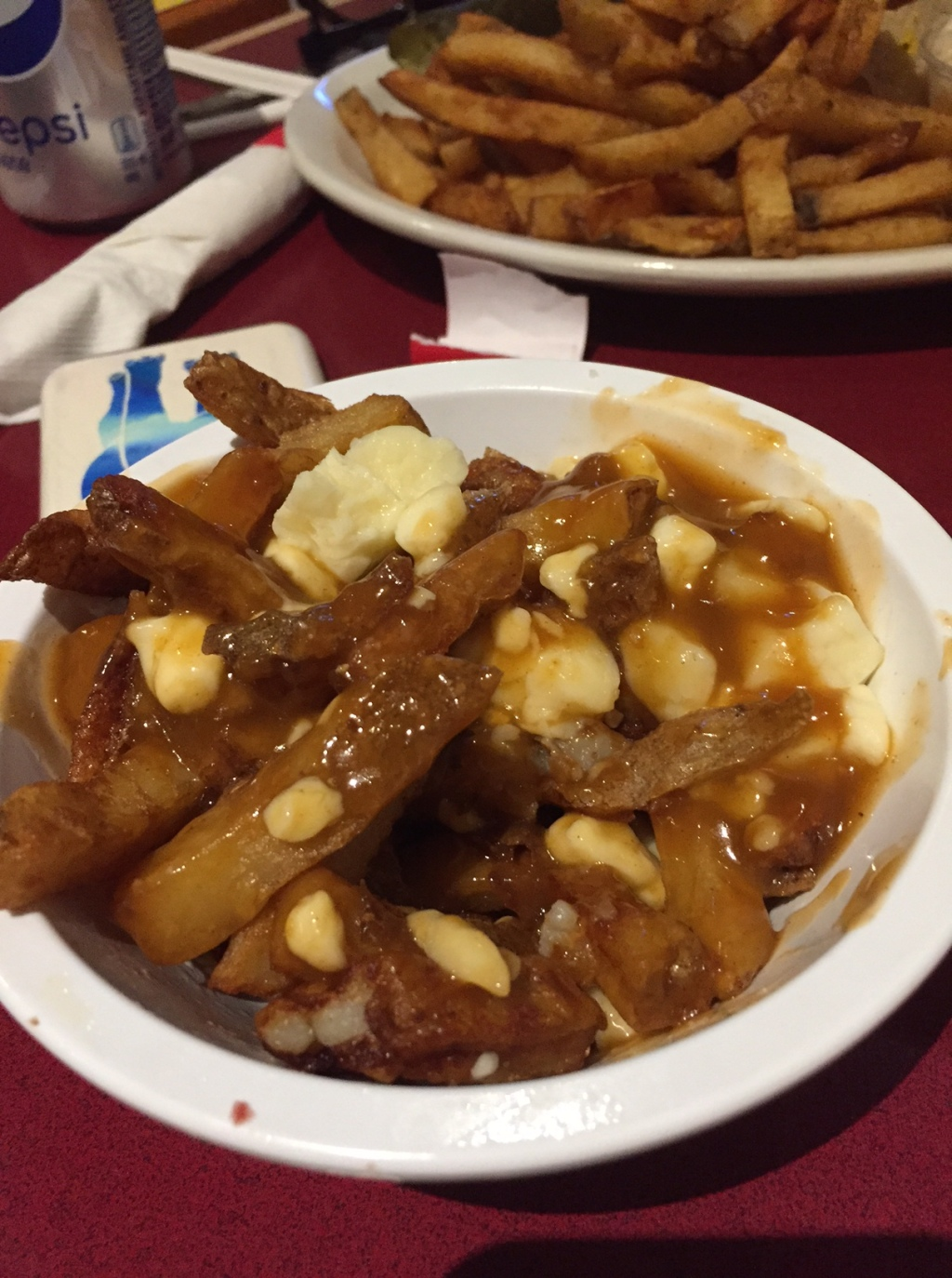 A little plate of Canadian heaven.