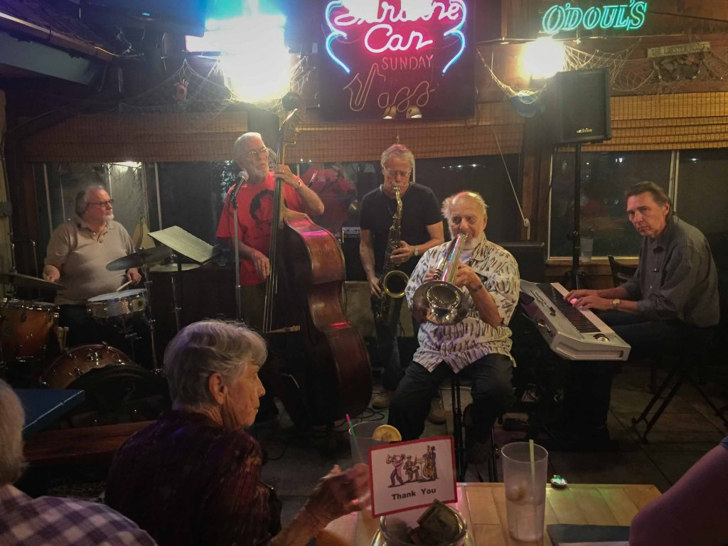 Sunday night jazz at the Sardine Can