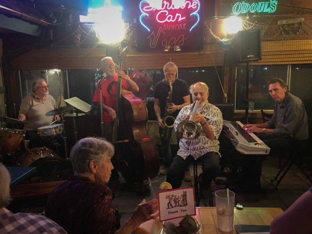 Sunday night jazz at the Sardine Can